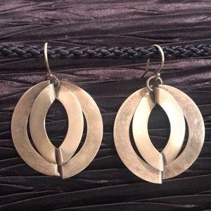 SILPADA .925 Sterling Dual Finish Earrings